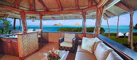Paul Mitchell Vacation Villa Bar Oahu Hawaii