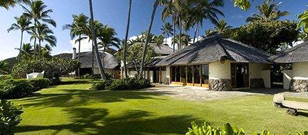 Paul Mitchell Vacation Villa Yard Oahu Hawaii