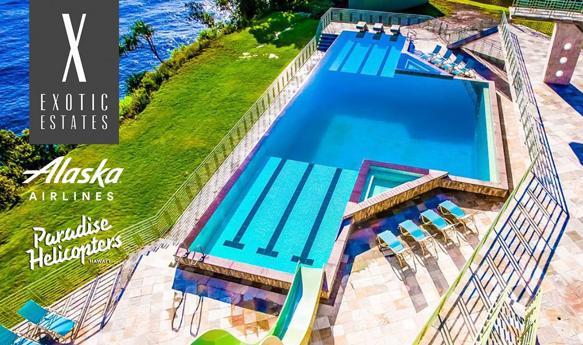 Exotic Estates Sweepstakes, Big Island Mansion, Free Trip Big Island