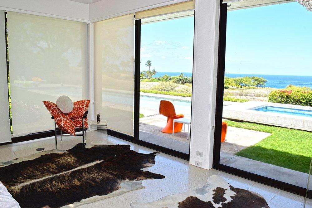Mauna Kea Mid Century Villa Vacation Home Bedroom View