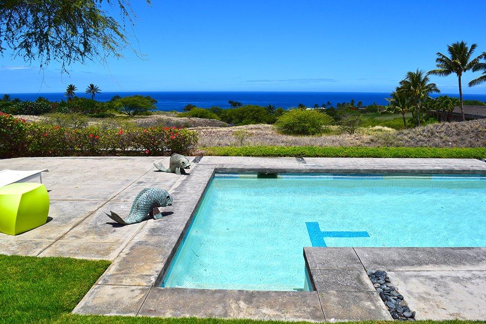 Mauna Kea Mid Century Villa Vacation Home View