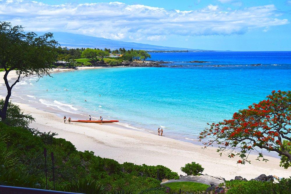 Mauna Kea Hotel Beach View