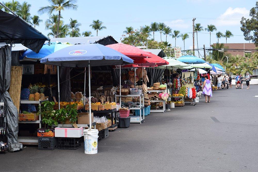 Kona Farmers Market, Exotic Estates, Vacation Rentals