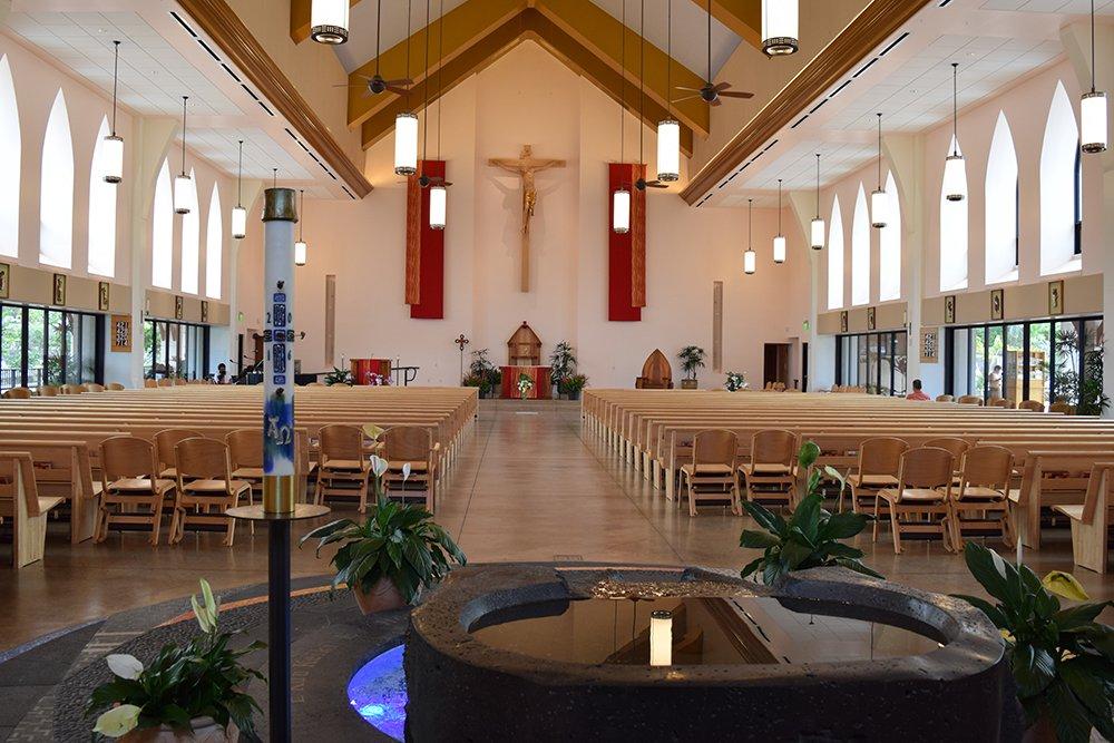 Kailua-Kona, Catholic Church, Exotic Estates, Vacation Rentals