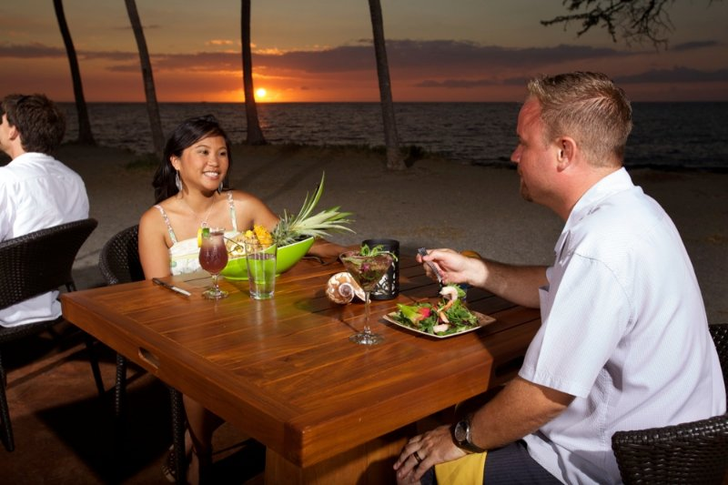 Lava Lava Beach Club, Sunset Oceanfront Dining, Exotic Estates, Vacation Rentals