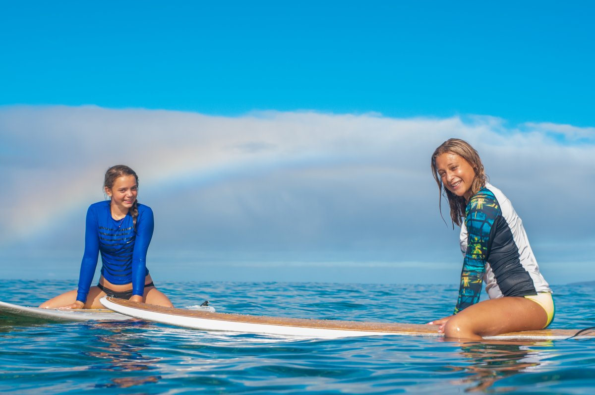 Maui Surfer Girls, Girls Surf Lessons, Exotic Estates, Vacation Rentals