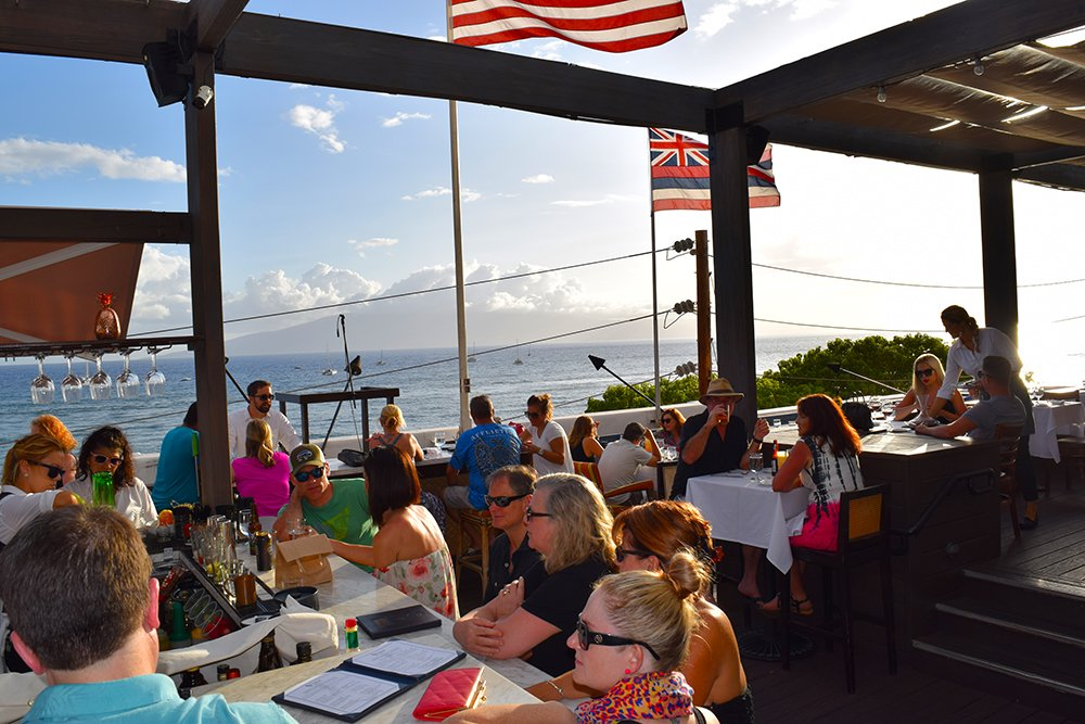 Fleetwood's on Front St. Lahaina Maui Rooftop View, Fleetwood's on Front St. Lahaina Maui View, Exotic Estates, Vacation Rental