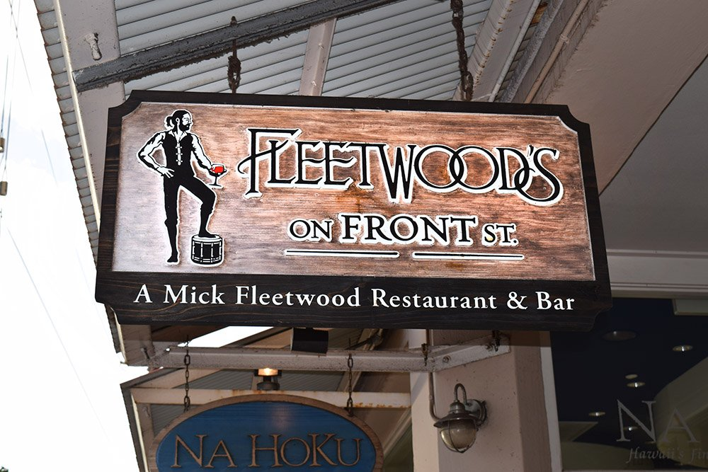 Fleetwood's on Front St. Lahaina Maui Sign, Fleetwood's on Front St. Lahaina Maui View, Exotic Estates, Vacation Rental