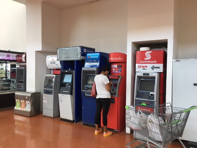 Cabo San Lucas ATM Machines, Los Cabos Airport, Exotic Estates, Vacation Rentals