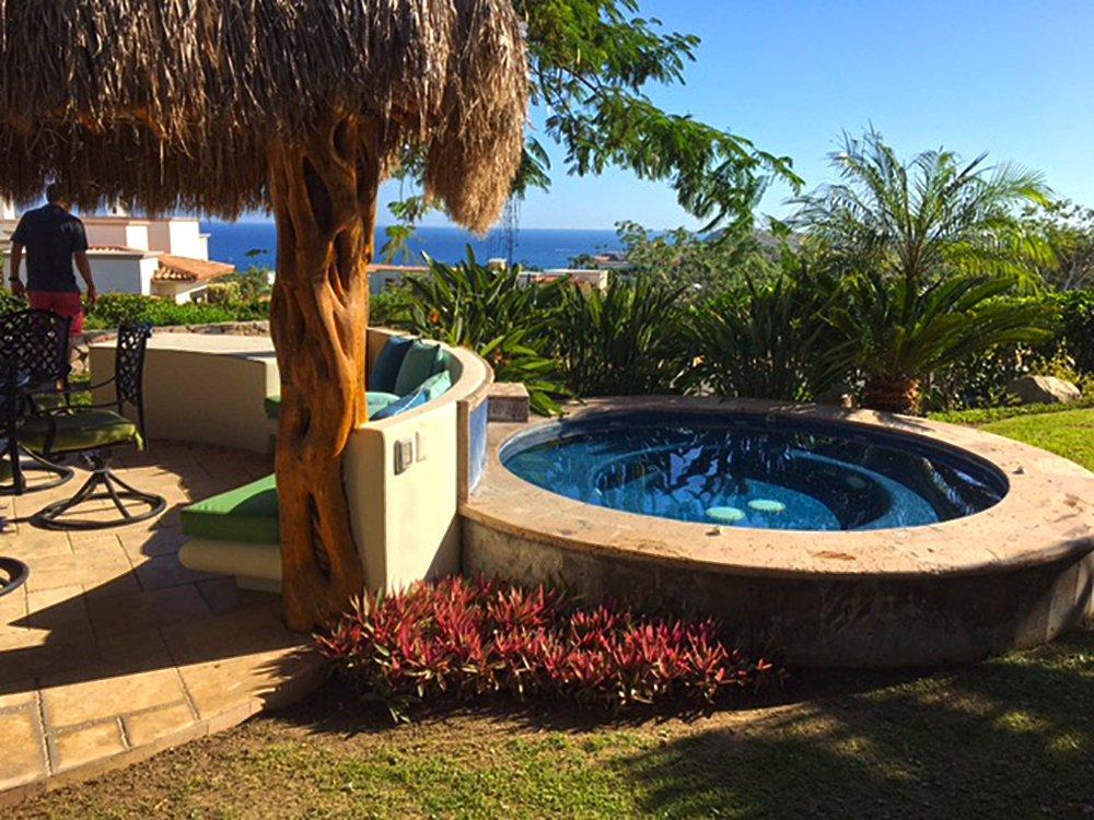 Exotic Estates Cabo Villa de los Faros Jacuzzi - JDR