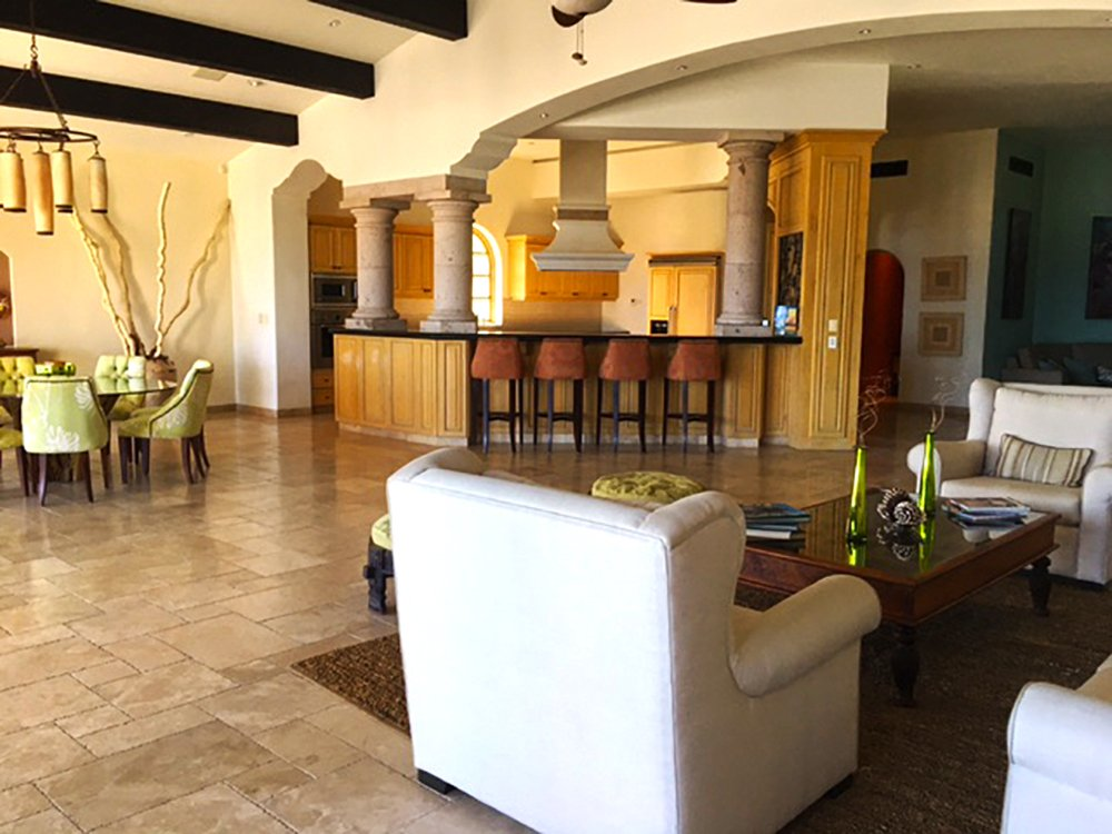 Exotic Estates Cabo Villa de los Faros Living Room, Cabo, Exotic Estates, Vacation Rentals