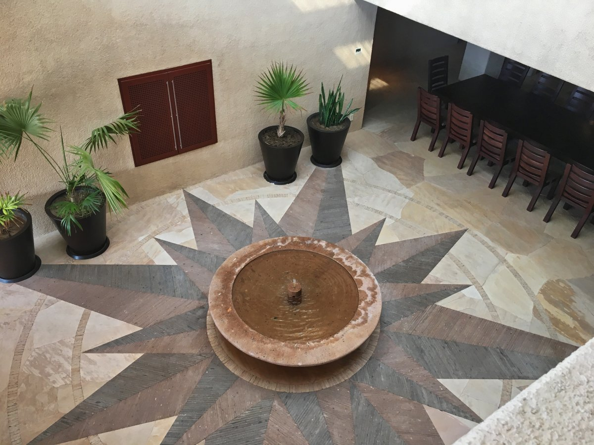 Exotic Estates Cabo Villa Tranquility Fountain and Mosaic, Exotic Estates, Vacation Rentals