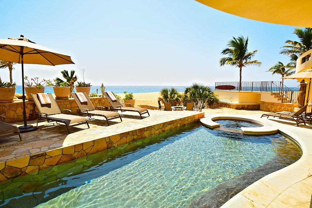 Exotic Estates Cabo Villa Marcella Pool - JDR
