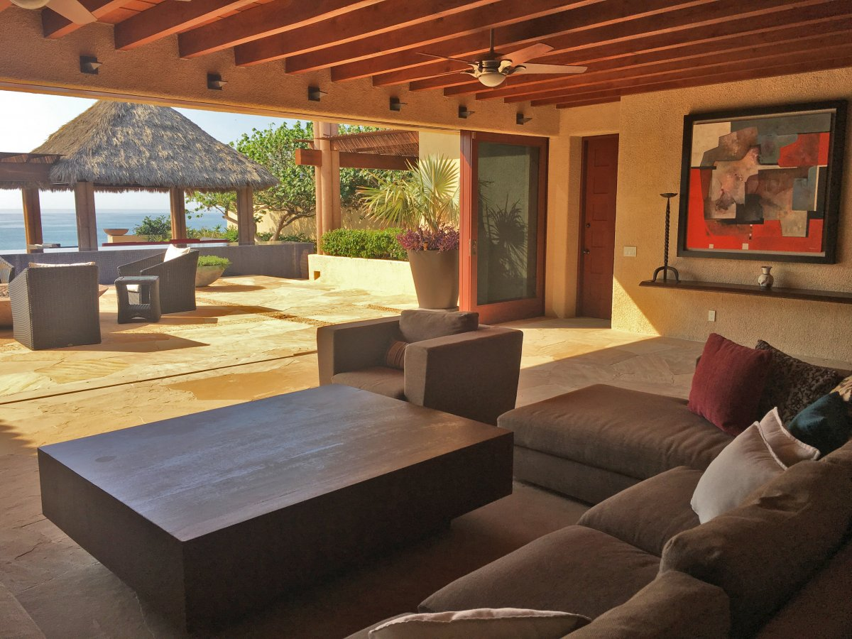 Exotic Estates Cabo Villa Tranquility Indoor Outdoor Living, Exotic Estates, Vacation Rentals