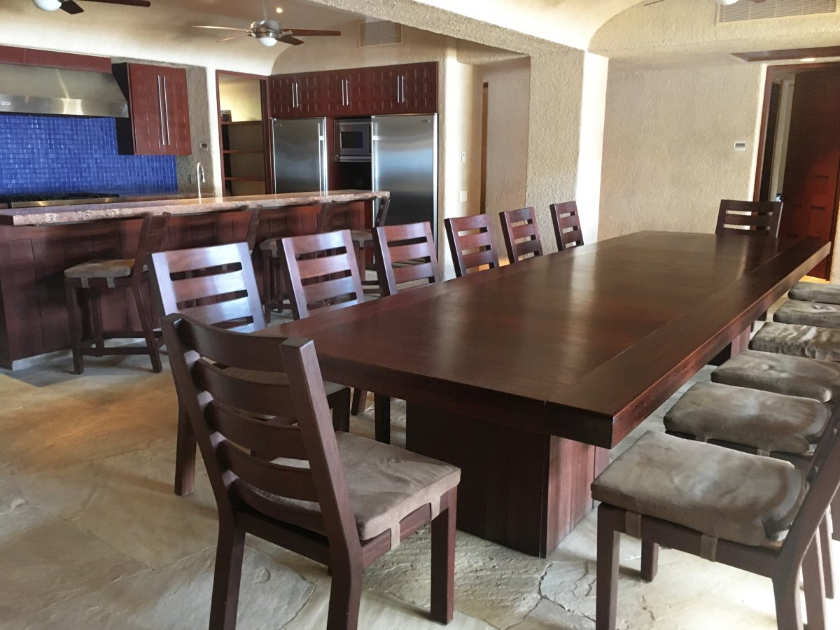 Exotic Estates Cabo Villa Tranquility Dining Table, Exotic Estates, Vacation Rentals