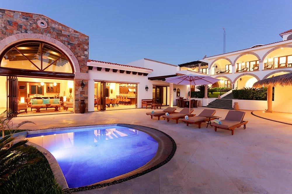 Exotic Estates Los Cabos White House Villa View, Cabo, Exotic Estates, Vacation Rentals