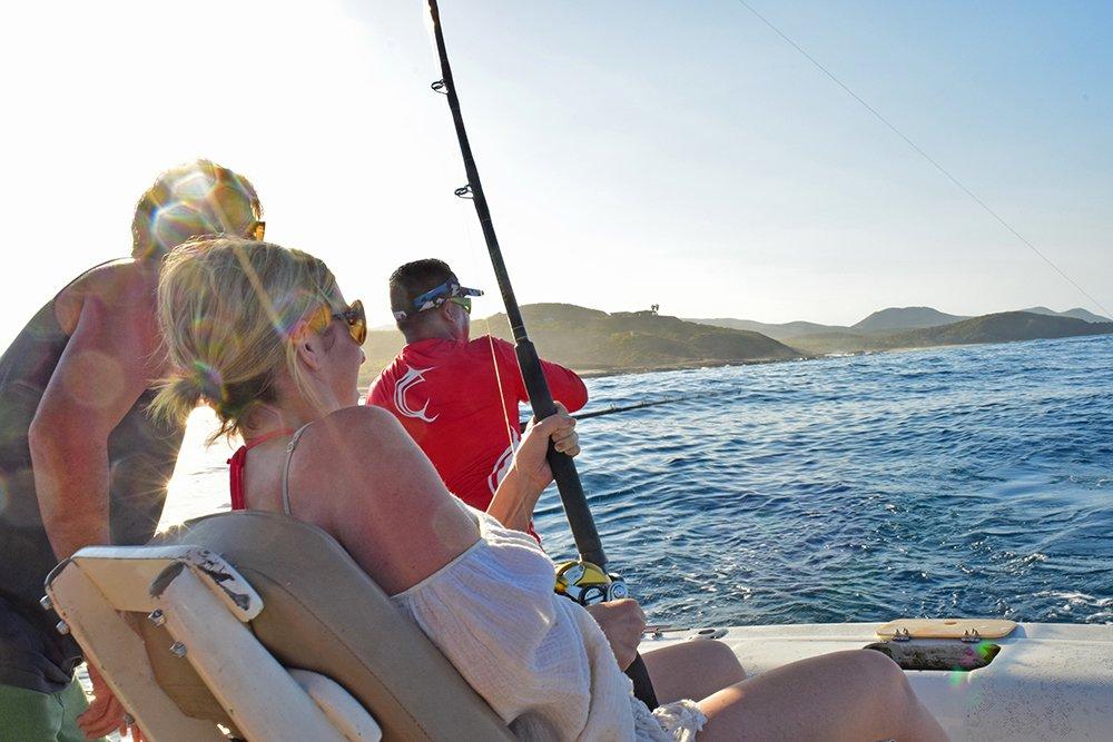 Exotic Estates Cabo San Lucas Reeling in Fish