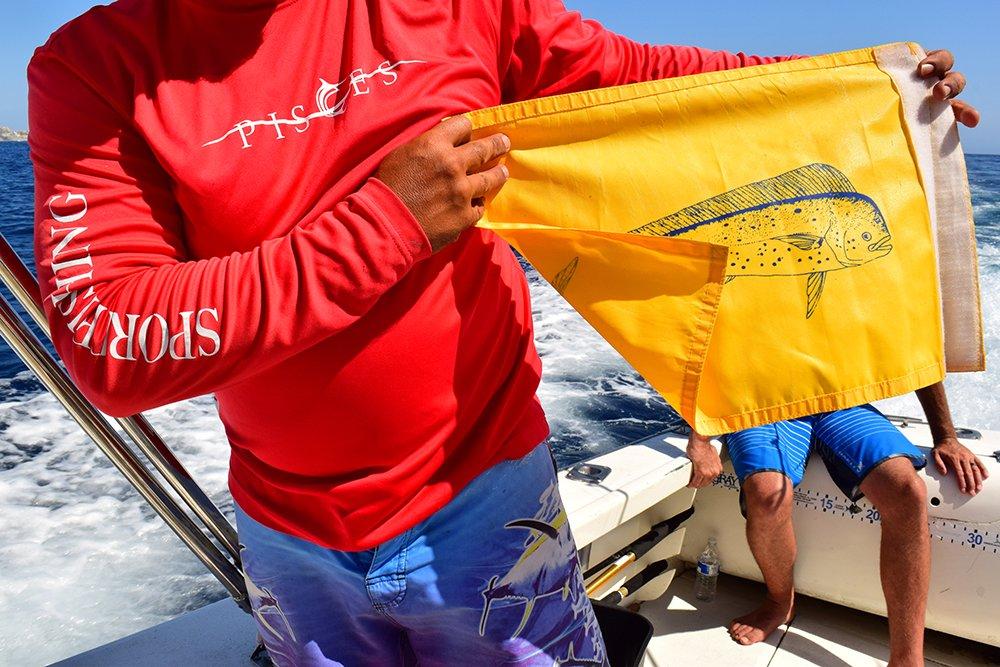 Exotic Estates Cabo San Lucas Deep Sea Fishing Flag