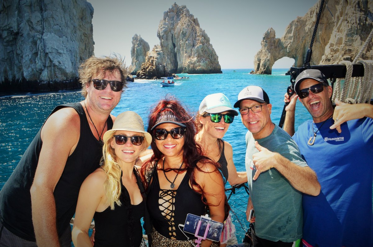 Exotic Estates Crew, Cabo San Lucas Boat Tour, Buccaneer Queen, Exotic Estates, Vacation Rentals