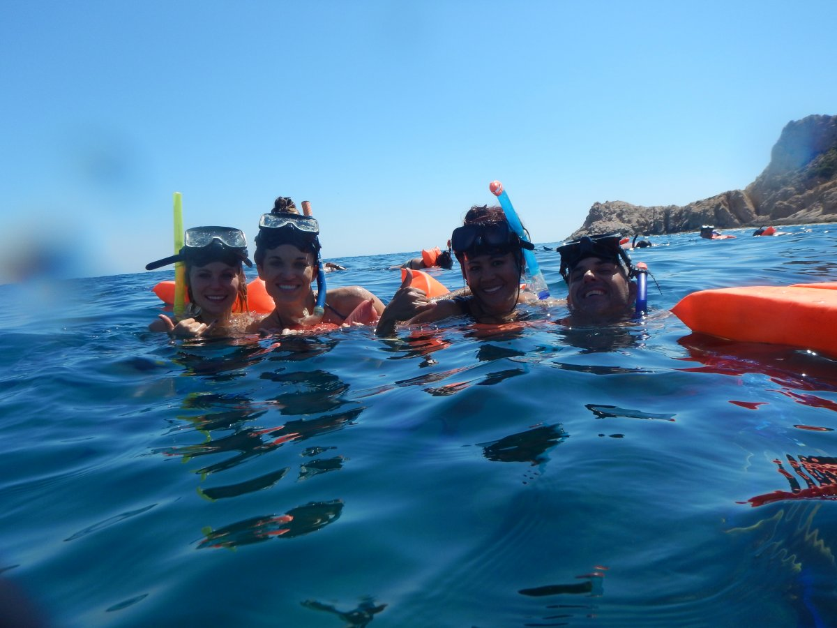 Snorkeling, Cabo San Lucas Boat Tour, Buccaneer Queen, Exotic Estates, Vacation Rentals