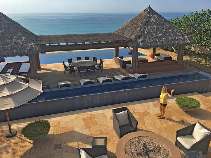 Cabo Villa Tranquility Beachfront Terrace, Cabo Villas, Cabo Villa Inspections, Exotic Estates, Vacation Rentals