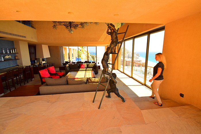 Villa Cabo Bellissima Shanon Living Room Art, Cabo Villas, Cabo Villa Inspections, Exotic Estates, Vacation Rentals