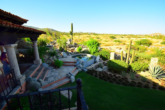 Cabo Whale View Villa Jacuzzi Backyard, Cabo Villas, Cabo Villa Inspections, Exotic Estates, Vacation Rentals
