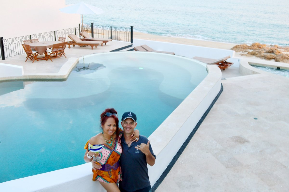Luxury Cabo Villa, Exotic Estates Los Cabos White House, Pool