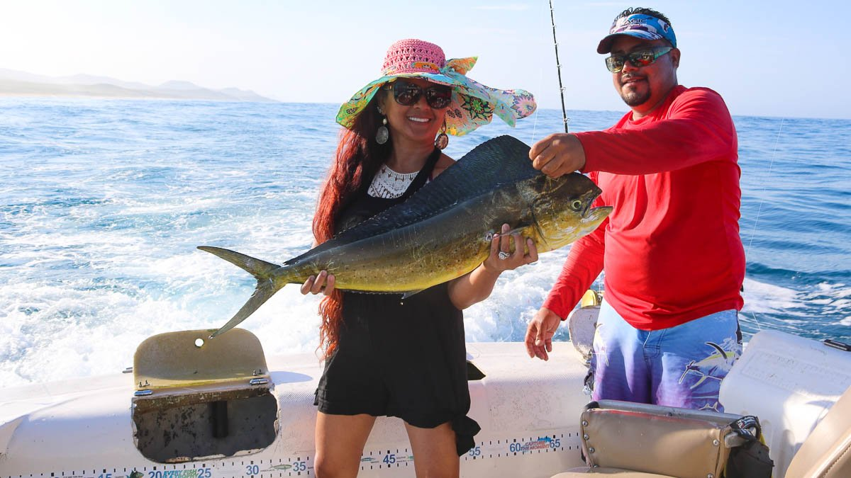 Christmas in Los Cabos with Exotic Estates Deep Sea Fishing