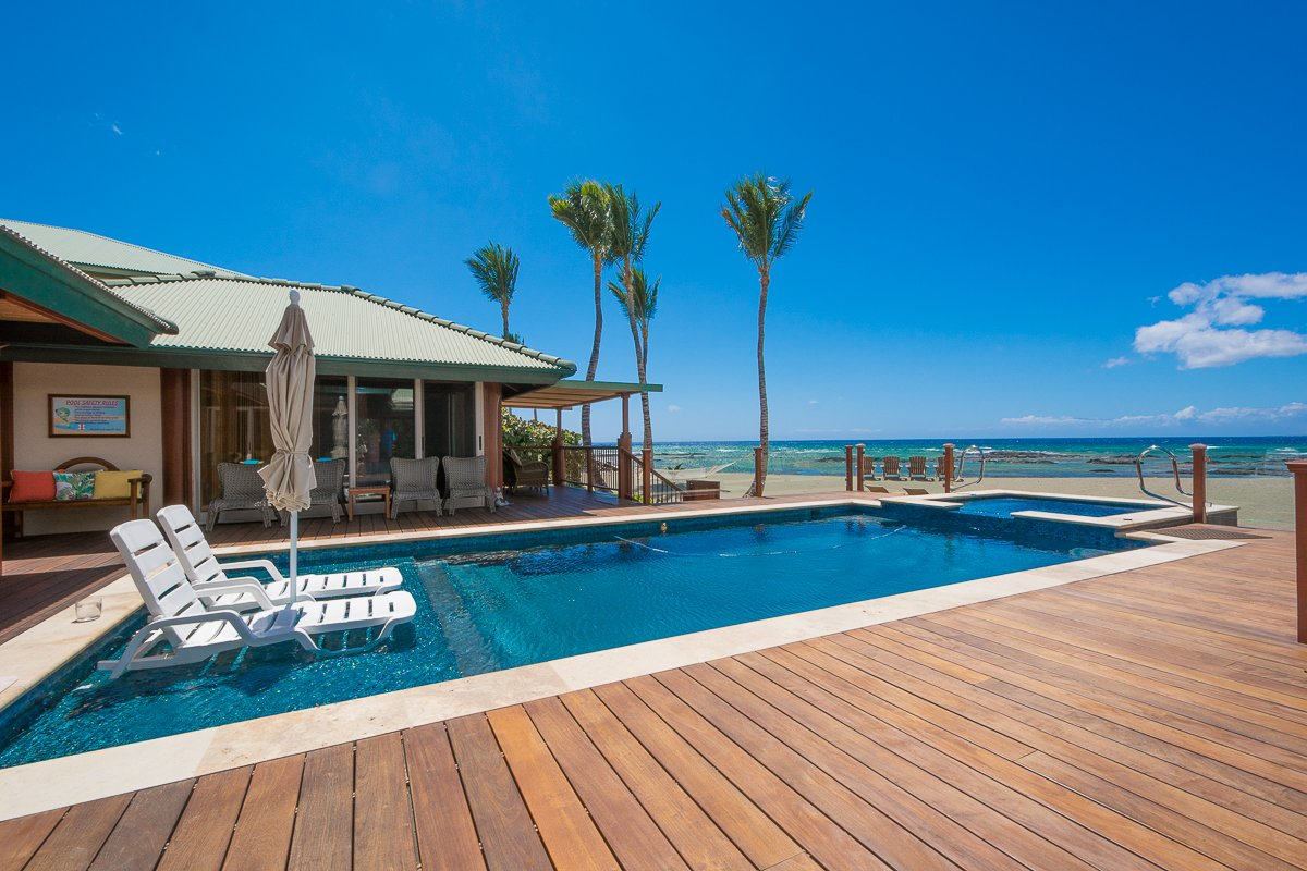 Exotic Estates Big Island Inspection Villas Puako Hylton