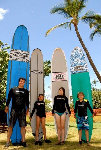 Waves Surf School Maui Exotic Estates Luxury Vacation Rentals
