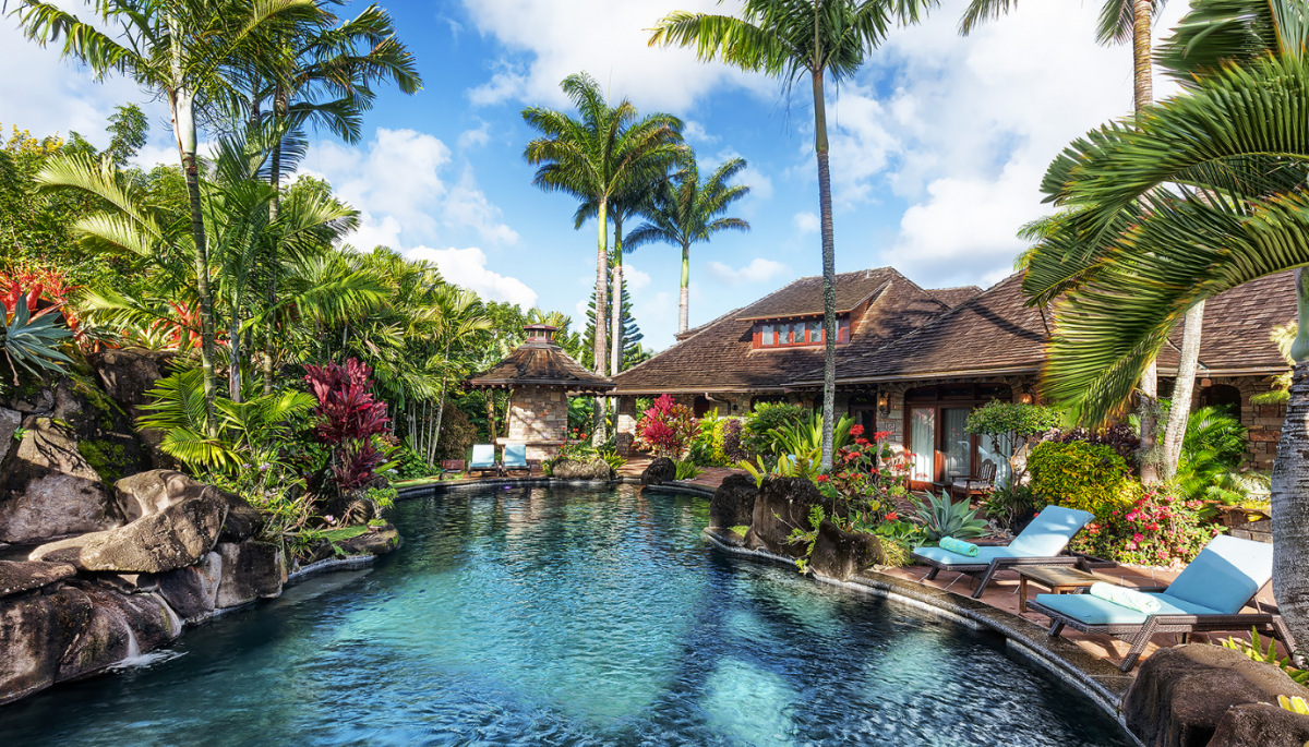 Mongoose Hawaii, Exotic Estates, Luxury Vacation Rental
