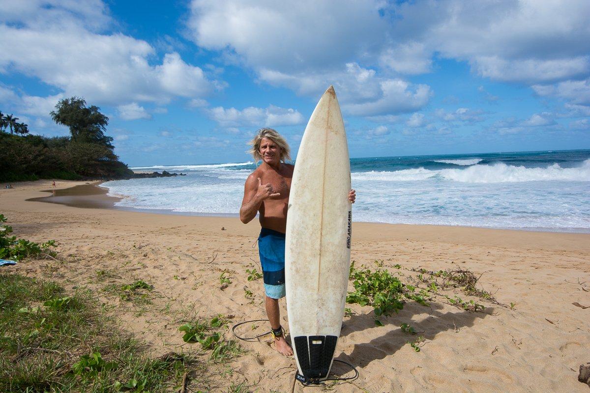hanalei bay, Kauai Villas, Exotic Estates, Kauai Surfing, Old Surfer