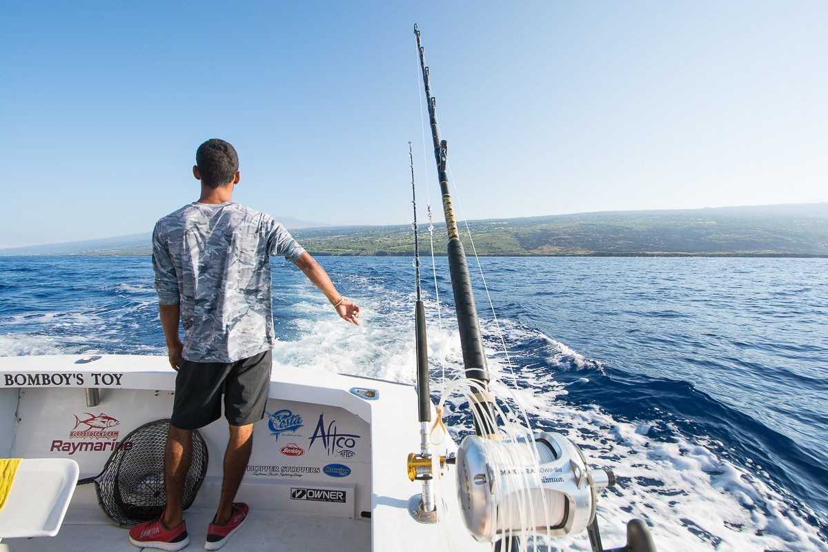 Big Island Vacation Rentals, Big Island Concierge, Big Island Deep Sea Fishing, Bomboys Toy, Blue Marlin