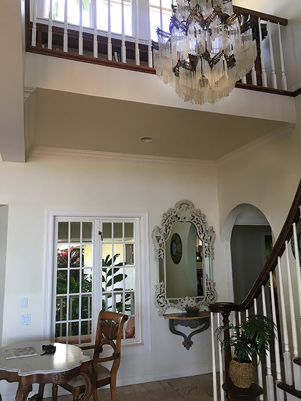 Maui Vacation Rentals - Lahaina Oceanfront Estate Stairs
