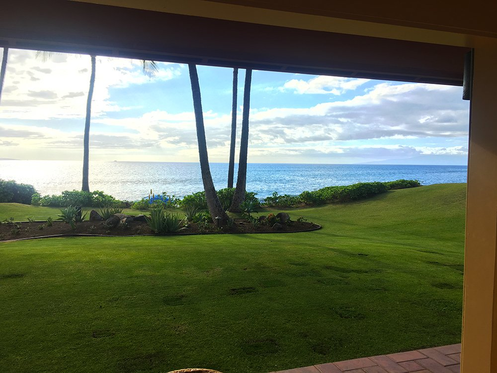 Maui Vacation Rentals - Kihei Bungalow Views