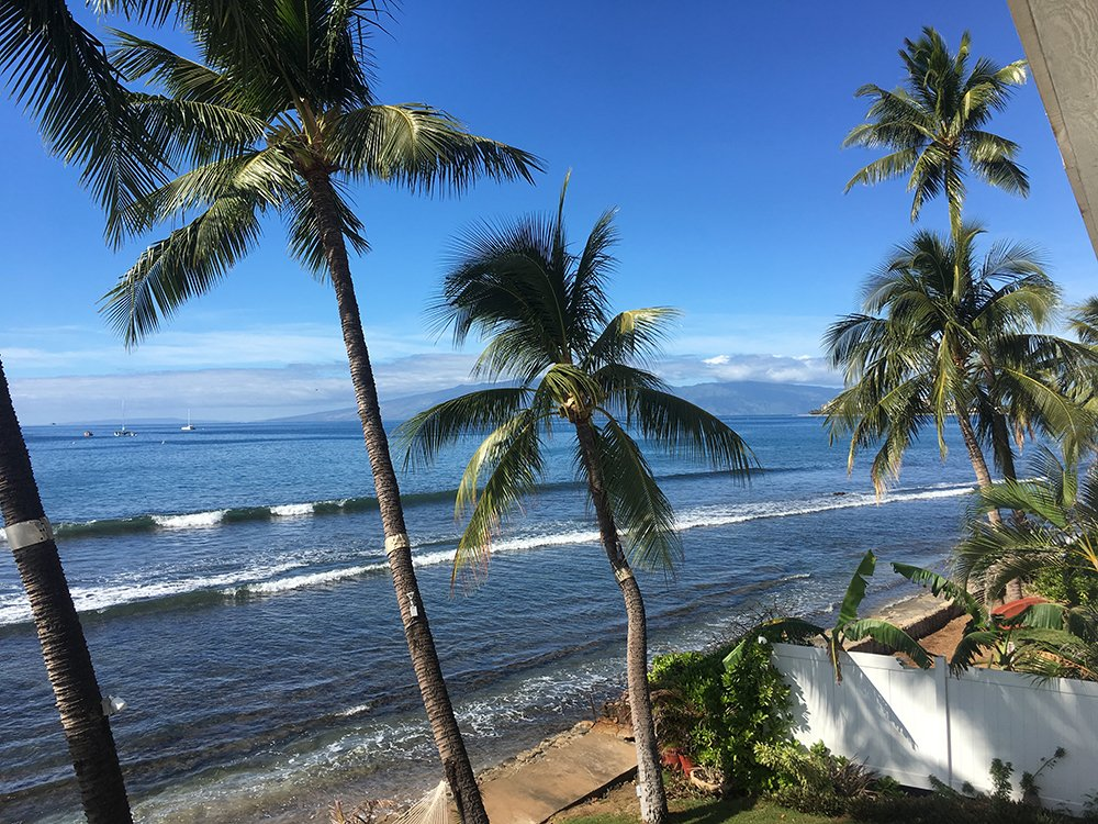 Maui Vacation Rentals - Lahaina Oceanfront Estate View