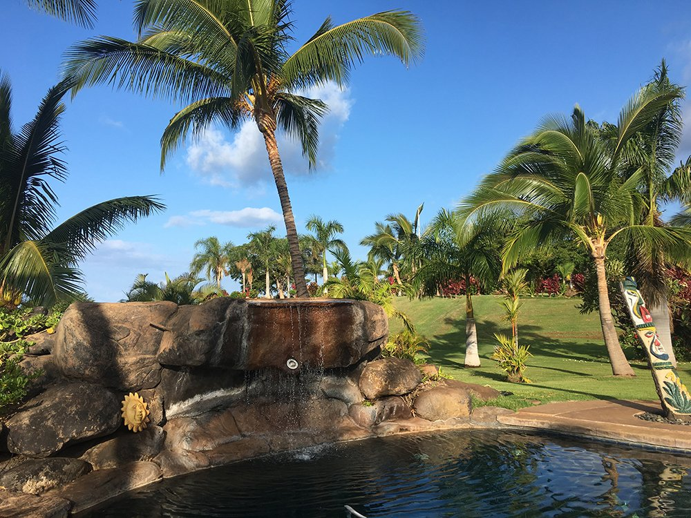 Maui Vacation Rental - Lahaina Palms Waterfall