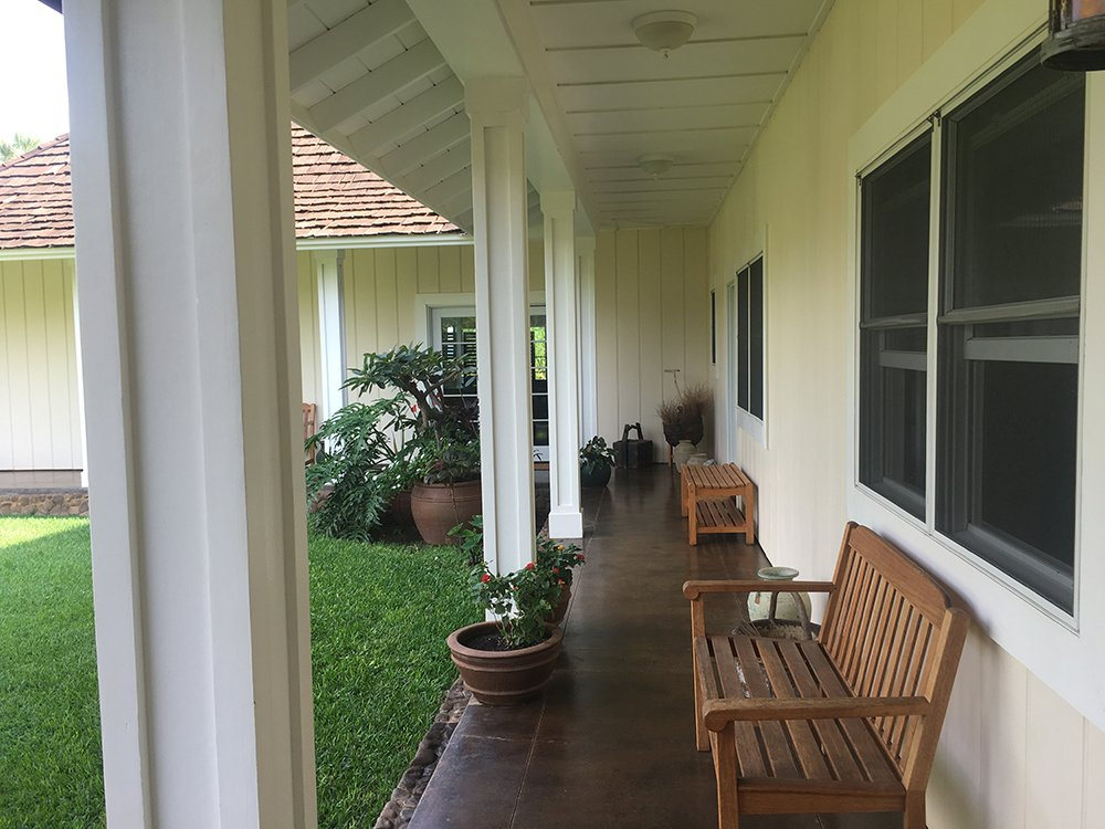Maui Vacation Rentals - Maui Royal Shores Villa Porch