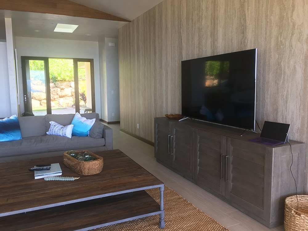Maui Vacation Rentals - Maui Surf Villa Living Room