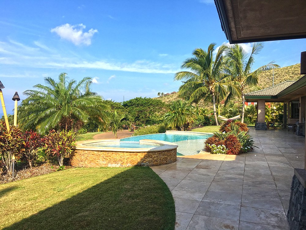 Maui Vacation Rental - Pool View