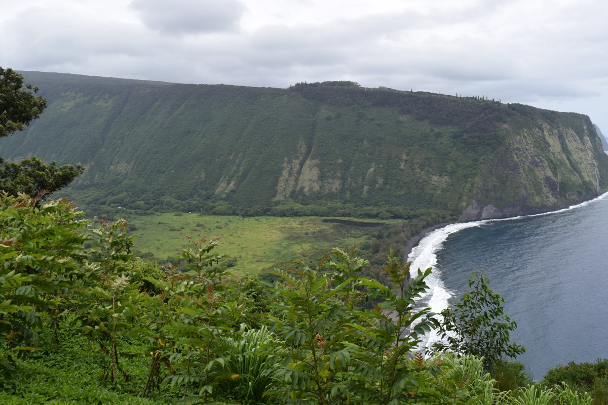 Waipio Valley Big Island of Hawaii - Exotic Estates - by John Di Rienzo