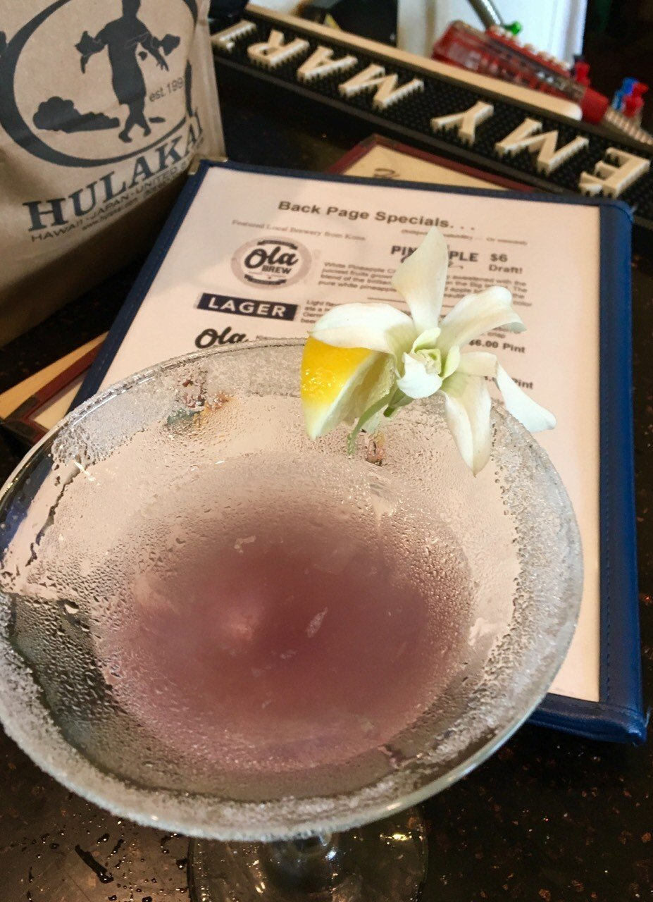 Martinis Hilo Big Island Hawaii - by Sarah Mater