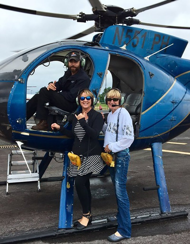 Helicopter Tours Big Island Hawaii - by Sarah Mater