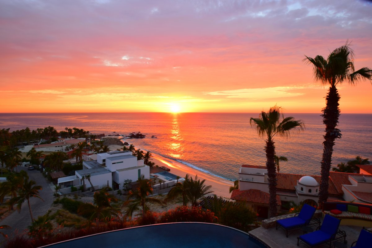 Cabo San Lucas Sunrise - Exotic Estates - by John Di Rienzo