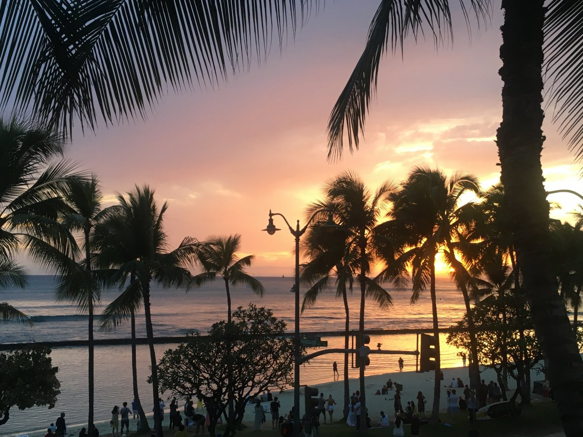 Waikiki Oahu by John Di Rienzo