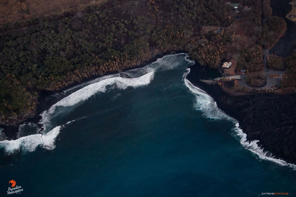 New Black Sand Beach - Photo by Paradise Helicopters