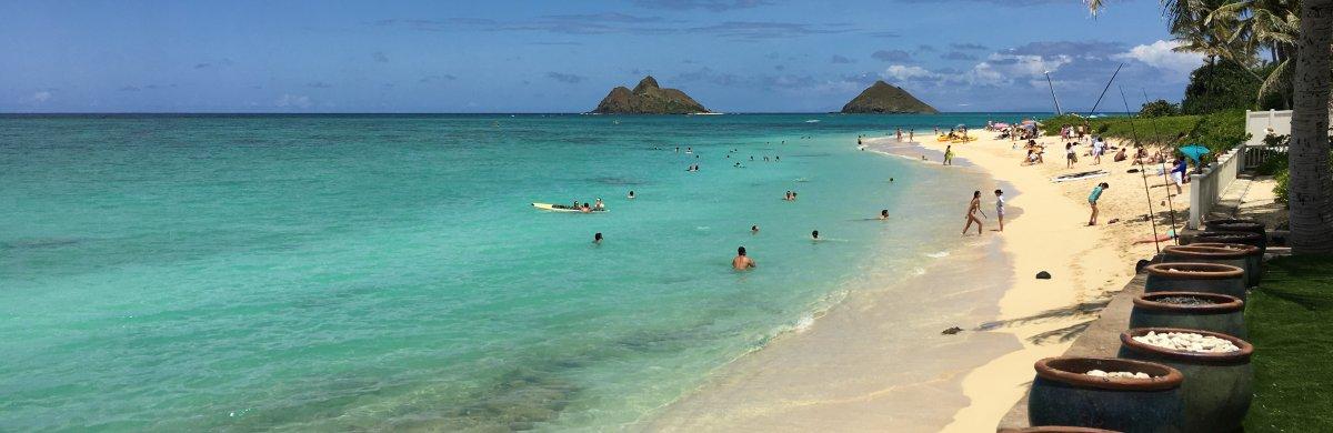 Windward Oahu Beach - John Di Rienzo