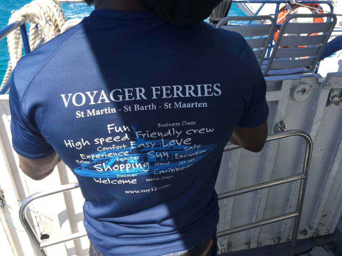 Voyager Ferries - St. Martin to St. Barths