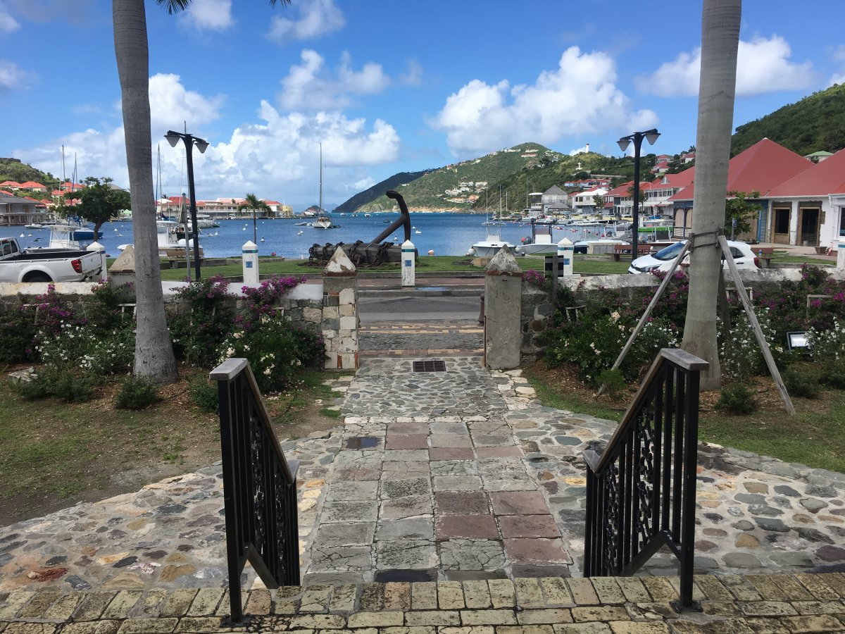 St. Barth Gustavia Harbor - by John Di Rienzo